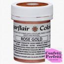 Oro Rosa per Cioccolato in Gel concentrato. 35 gr. Sugarflair