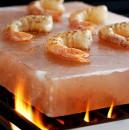 Piastra di sale Rosa dell'Himalaya. Per cucinare in modo semplice e salutare