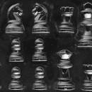 Stampo in policarbonato per scacchi di Cioccolata