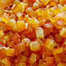 Scorze Di Arancia Candite Cubetti.Amor di Frutta. Giuso