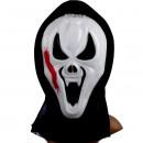 Scream Vampiro con Pompa e tubo per il sangue.Fantastica maschera Horror!!