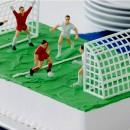 Set Calcio di 4 Calciatori con Arbitro e 2 Porte. Wilton