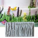 Stampo erba prato fiori