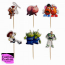 Toys Story Cake Topper. 24 Sagome colorate