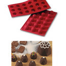 Diamanti. Stampo in silicone per Muffin, Brownie, Cupcake e Dolci.