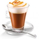 Caffè aromatizzato al Caramello. Disponibile in Grani e Macinato.