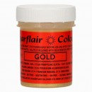Oro 35 gr. Glitterato.Coloranti in Gel concentrati. Glitter Paint Gold. Sugarflair