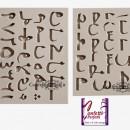 Alfabeto Arabo con Lettere e Numeri in silicone