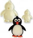Pinguini. Set di 2 stampi di varie dimensioni