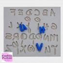Alfabeto Lettere Disney. Stampo in silicone