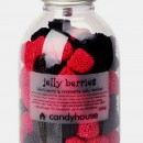 Candyhouse Caramelle Jelly Berries gommose More e Lamponi.