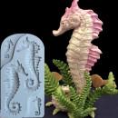 Cavalluccio di Mare. 3 Stampi in silicone