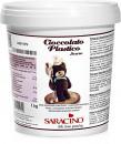 Cioccolato plastico Scuro. Saracino