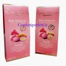 Confetti Rosa Ruby al Cioccolato 150 gr. Maxtris Sensations Nocciola o Mandorla. Senza Glutine