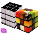 Cubo di Rubik. Stampo Rotante in 3/D per una fantastica Torta