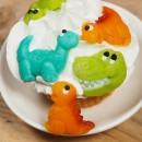 Dinosauri in Marzapane. Confezione di 5 specie. FunCakes