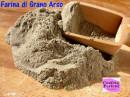 Farina di grano Arso macinata a Pietra. 250 gr