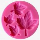 Foglie di Edera. Stampo in silicone per la pasta di zucchero