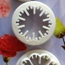 Garofano. Set di 3 Stampo tagliapasta in plastica per il cake design