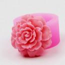 Grande Rosa decorata. Stampo in silicone