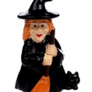 Halloween. Set di 4 statuine per decorazioni