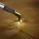 Oro Brillante Metallizzato. Colorante in gel. Rainbow Dust