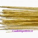Oro. Fili o Steli Wire per Fiori