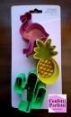 Pellicano Ananas e Cactus. Set di 3 grandi tagliapasta