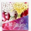 Pistilli Bianco Perla e Giallo Opaco per fiori 288 pz. Decora