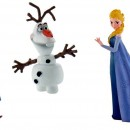 Statuine in PVC di Elsa Anna e Olaf Frozen.Disney