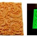 Stile Barocco. Stampo decorativo in silicone.