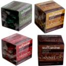 Sultanine, caramelle artigianali realizzate a mano, trafilate al bronzo e prodotte esclusivamente con ingredienti naturali.