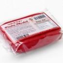 250 gr. Rosso. Pasta di zucchero Model Saracino. Gluten Free