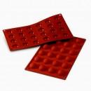 24 Semisfere. Stampo in silicone per Muffin, Brownie, Cupcake e Dolci. Mezza Sfera