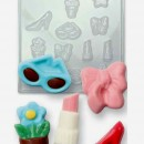 Ragazza Fashion. Stampo in policarbonato flessibile. PME Girls World