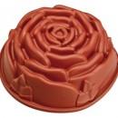 Rosa 23 cm. Stampo Antiaderente in silicone Platinico