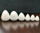 24 Boccioli di varie dimensioni in plastica