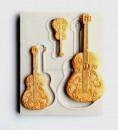 Chitarra Classica. Stampo in silicone di 3 modelli