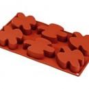 6 Colombe. Stampo in silicone Platinico di alta qualità.