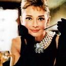 Audrey Hepburn. Grande Stencil di 43 cm