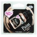 BEIGE/VISONE Gel Metallizzato. Nuova Vernice Perlescente. Rainbow Dust Food Paints.25 ml.