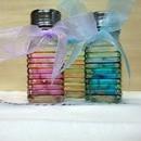 Bomboniere Sale e pepe in vetro colorato
