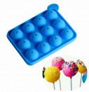Cake Pops. Stampo in silicone Platinico. Da 8 o 12 sfere