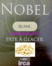 Cioccolato Bianco. Irca Nobel. Qualità Superiore