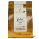 Cioccolato con Caramello intenso. Oro. Callets Gold. Callebaut