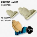 Mani che pregano  Stampo Tagliapasta