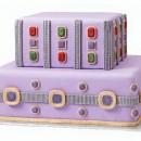 Diamanti Gemme e Gioielli. Stampo in silicone con 14 motivi decorativi più 2 bordure.