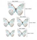 Farfalle volanti con Ali Tiffany. Sagoma Cake Topper