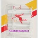 Fiocchi e Papillon. Set di 3 mini stampi ad espulsione. Originale Dekofee.