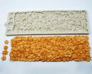 Fiori. Grande Bordo di 37 x 12 cm in silicone